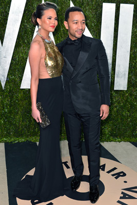 Chrissy Teigen and John Legend :: Alberto E. Rodriguez/WireImage