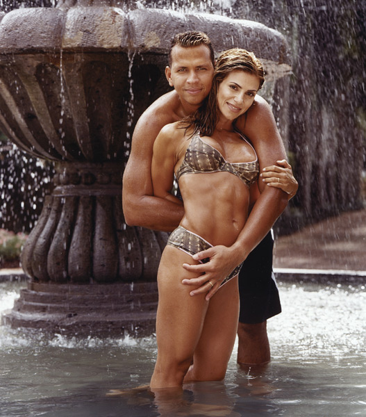 Cynthia and Alex Rodriguez :: Richard Corman/SI (2004)