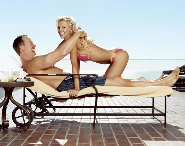 Mark and Stephanie McGwire :: Chris Shipman/SI (2005)