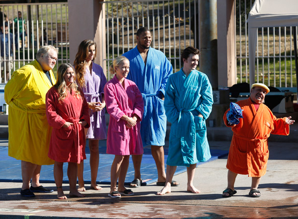 "Cast of ""Splash"" :: Kelsey McNeal/ABC via Getty Images"