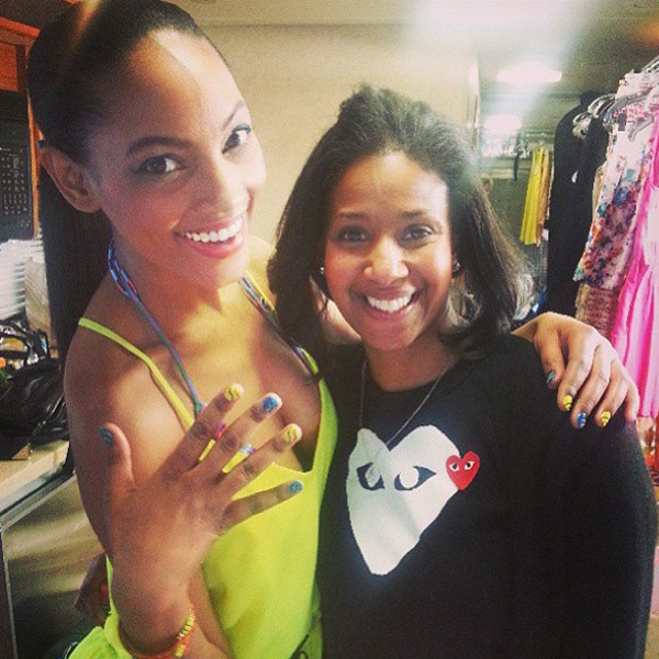 @1arielmeredith: #repost #bestmanicurist @ginae1026 what an amazing day!! Xo