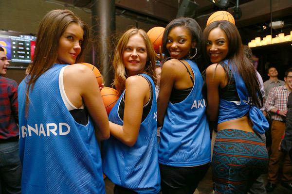 Natasha Barnard, Jessica Perez, Adaora, Ariel Meredith :: Erick Rasco/SI