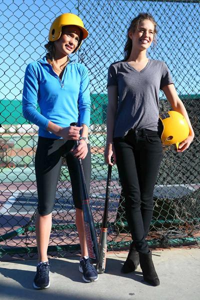 Emily DiDonato and Hannah Davis :: Erick W. Rasco/SI