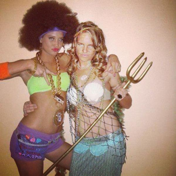 @hanni_davis: throwbackthursday #TBT @zanimal_ and I back in high school