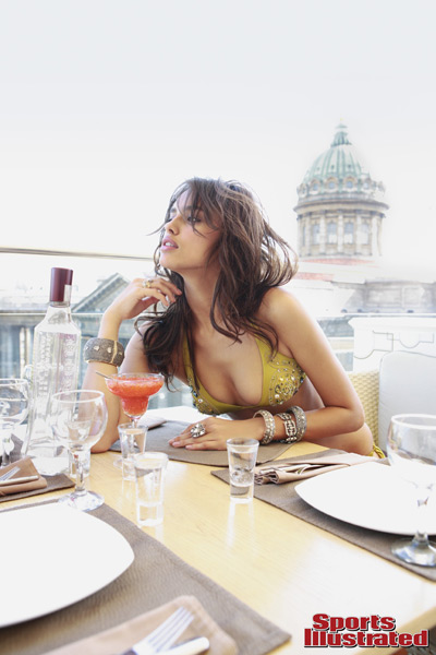Irina Shayk :: Steve Erle/SI