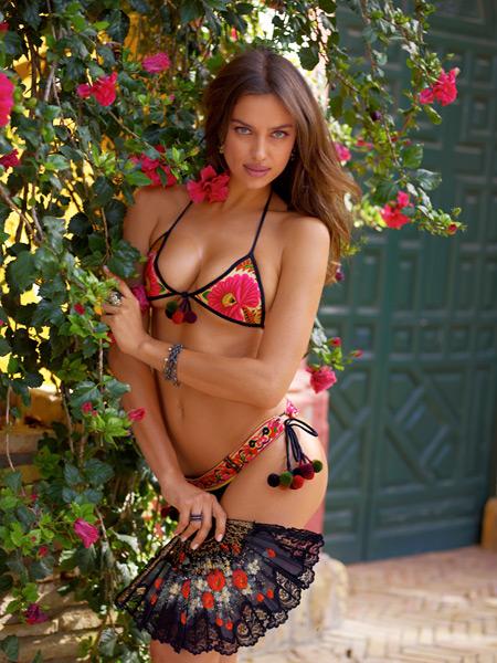 Irina Shayk :: Alex Cayley/SI