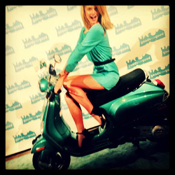 @katelynnebock: Just casually rollin' into the #GalaForGood tonight …
