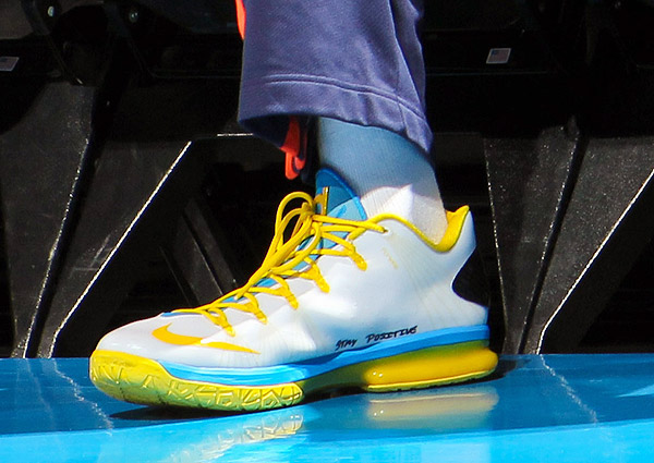Kevin Durant, Game 1: Thunder vs. Rockets (Layne Murdoch Jr./NBAE via Getty Images)