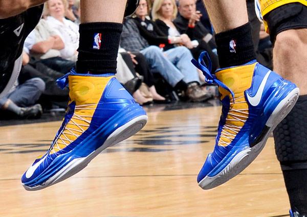 Klay Thompson, Game 2: Warriors vs. Spurs (D. Clarke Evans/NBAE via Getty Images)