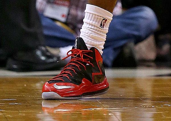 LeBron James, Game 5: Heat vs. Bulls (Mike Ehrmann/Getty Images)