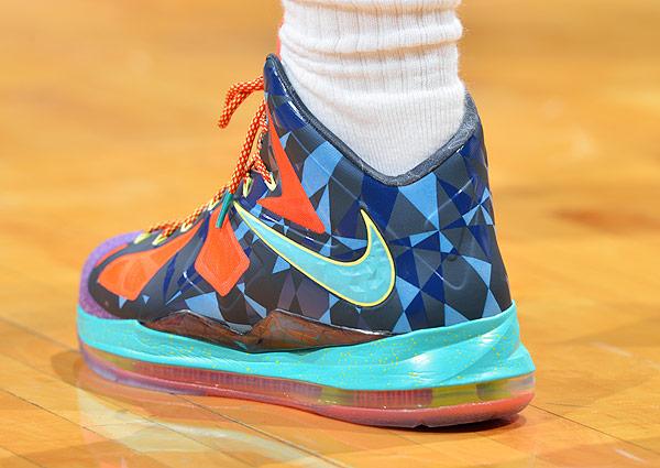 LeBron James, Game 1: Heat vs. Bulls (Jesse D. Garrabrant/NBAE via Getty Images)
