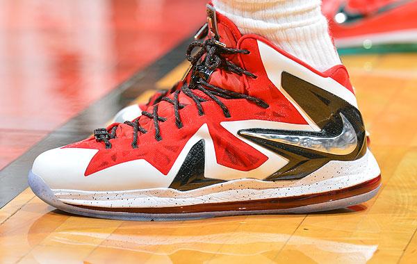 LeBron James, Game 1: Heat vs. Bucks (Jesse D. Garrabrant/NBAE via Getty Images)