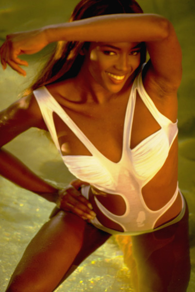 Naomi Campbell - Cool as Ice (1991),                             Miami Rhapsody (1995), Girl 6 (1996) :: Robert Huntzinger/SI