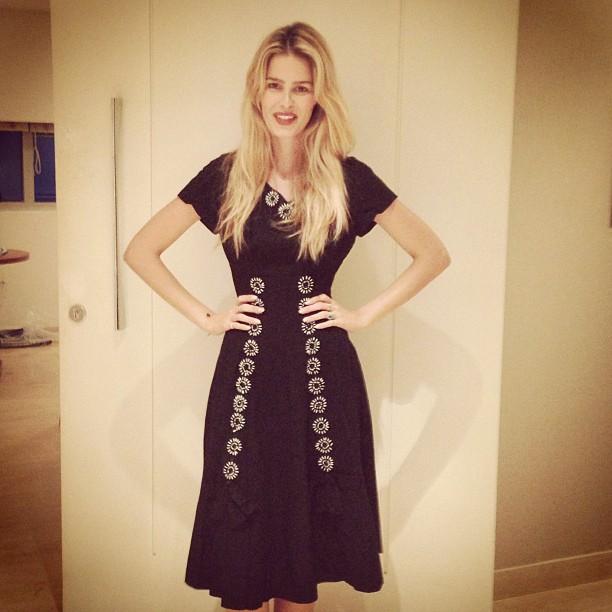 @yasminbrunet1: Esse é o vestido que minha mãe estava usando na noite que nasci!!!! @luizabrunet