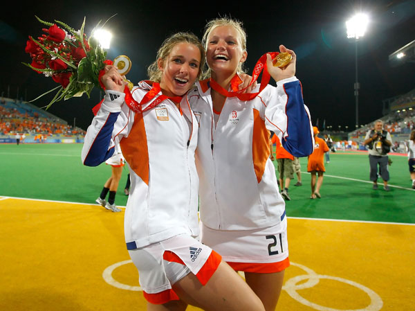 Ellen Hoog and Sophie Polkamp :: Getty Images