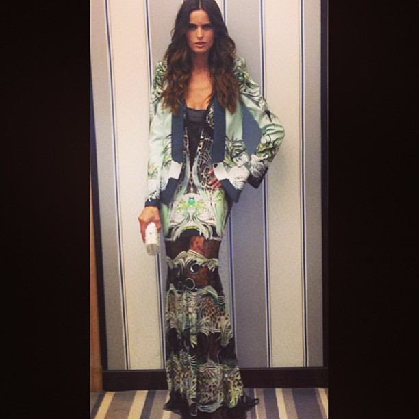 @izabel_goulart: 1st Night in Cannes #Cavalli