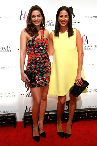 Alyssa Miller with Rebecca Minkoff at the 2013 American Image Awards :: JP Yim/Getty Images
