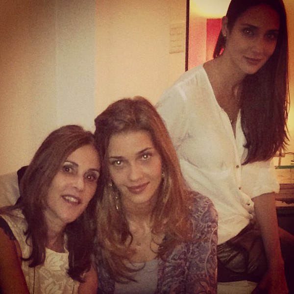 Ana Beatriz Barros and mother :: @anabbofficial