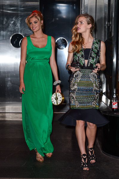 Kate Upton and Brooklyn Decker :: Ray Tamarra/Getty Images