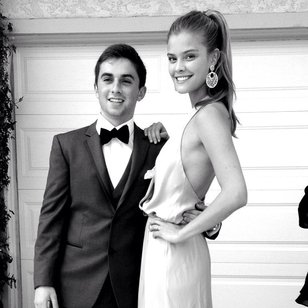 @ninaagdal: Had such a great prom night. Thank you @jakedavidson23 for being an awesome date!