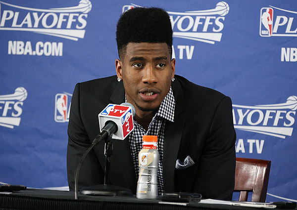 Iman Shumpert, Knicks: Game 6 vs. Celtics (Nathaniel S. Butler/NBAE via Getty Images)