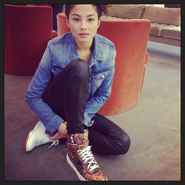 @iamjessicagomes: Aah sneaker swag! Shall I @shaym #barneys