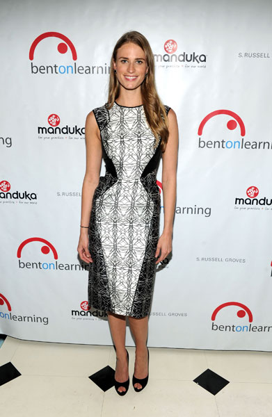 Julie Henderson at the 013 Bent On Learning Spring Fling Benefit :: Craig Barritt/Getty Images