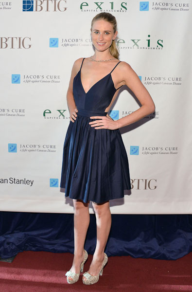 "Julie Henderson at the 2013 Jacob's Cure ""Dream Big"" Gala :: Eugene Gologursky/Getty Images"