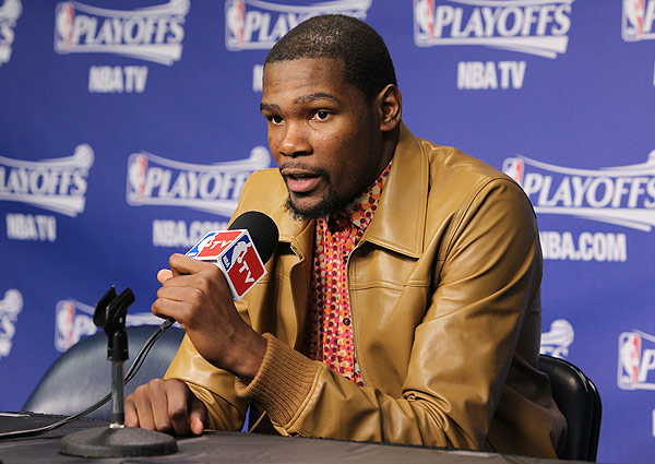 Kevin Durant, Thunder: Game 3 vs. Grizzlies (Joe Murphy/NBAE via Getty Images)