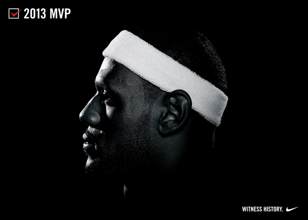 "Promotional artwork for the ""MVP"" version of the LeBron X. (Nike)"