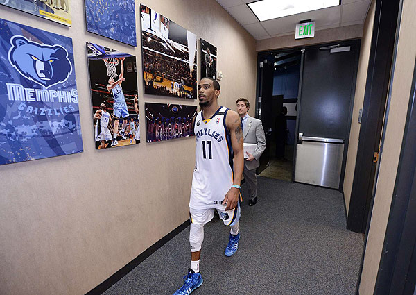 Mike Conley (Robert Beck/SI)