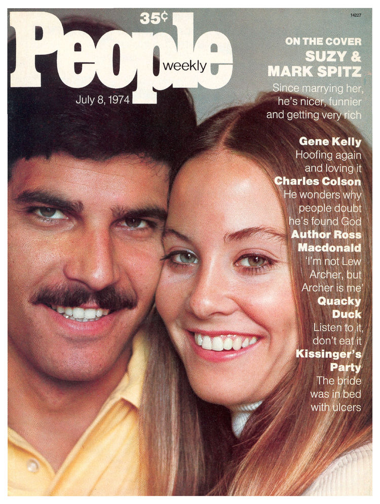Mark Spitz (July 8, 1974): The nine-time Olympic gold medalist also joined his wife on the cover of Sports Illustrated.