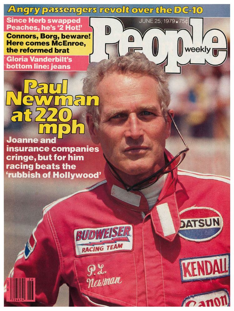 Paul Newman (June 25, 1979): The actor's racing career culminated in 1979 when his team won a Can-Am Team Championship.