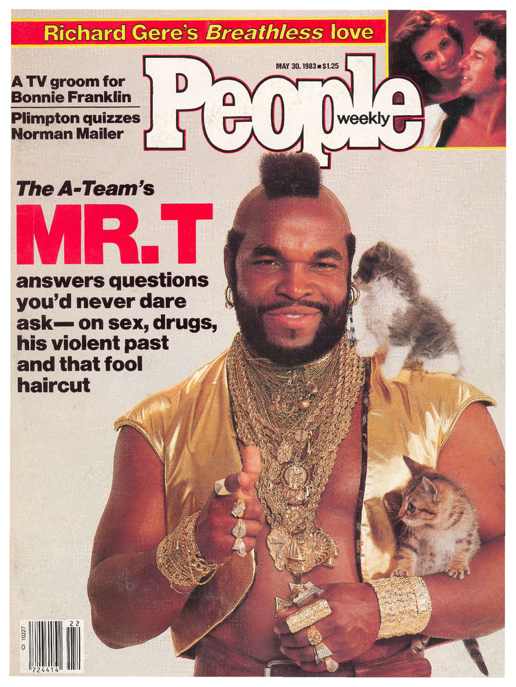 Mr. T (May 30, 1983): Clubber Lang and kittens, natch.