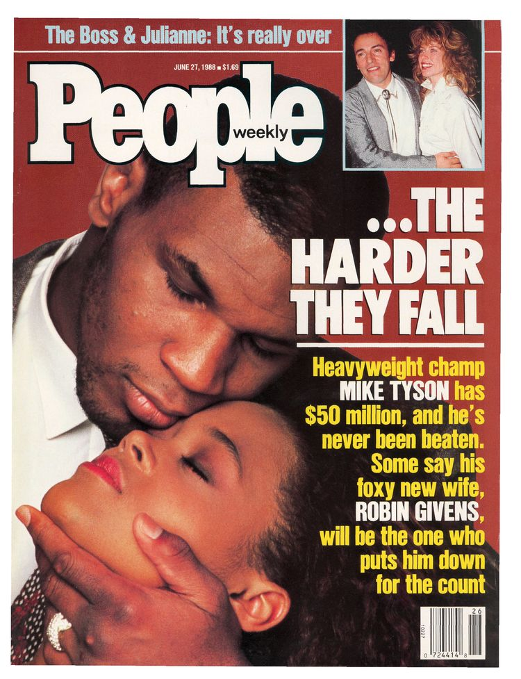 Mike Tyson (June 27, 1988): The date of this issue — June 27, 1988 — is widely acknowledged as the stratospheric peak of Tyson's career: when he obliterated Michael Spinks in just 91 seconds.