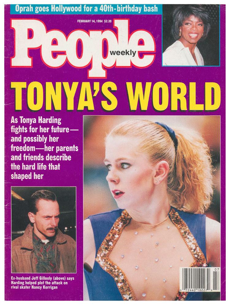 Tonya Harding (Feb. 14, 1994): … and then Harding ahead of the Lillehammer Olympics.
