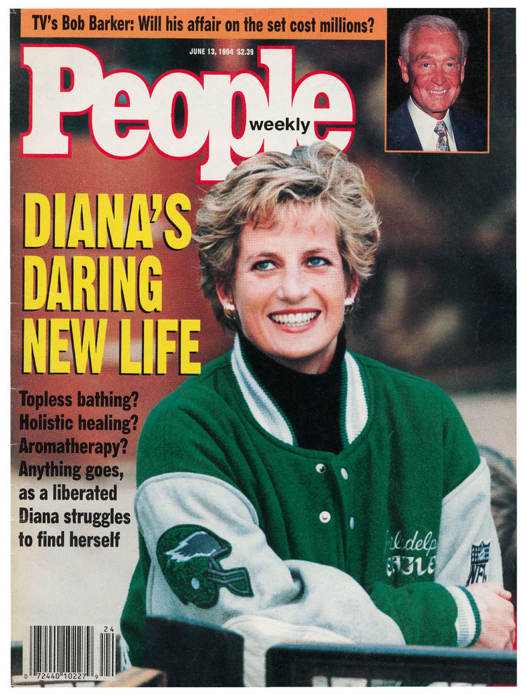 Princess Diana (June 13, 1994): Hey, she wasn't an athlete, but who can argue with her impeccable sense of style?