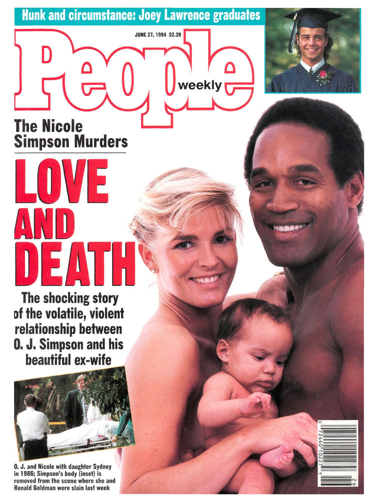 O.J. Simpson (June 27, 1994): The accused football star appeared on People for two straight weeks around the time of his arrest ...