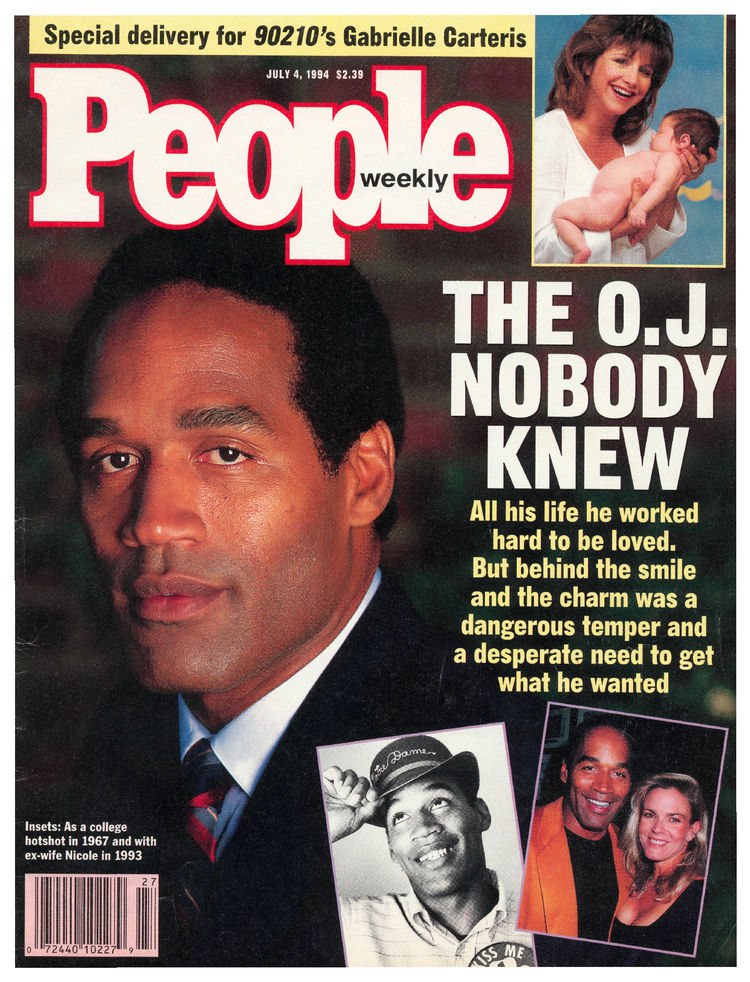 O.J. Simpson (July 4, 1994): ... as America struggled to put together the pieces of what happened that night in L.A.
