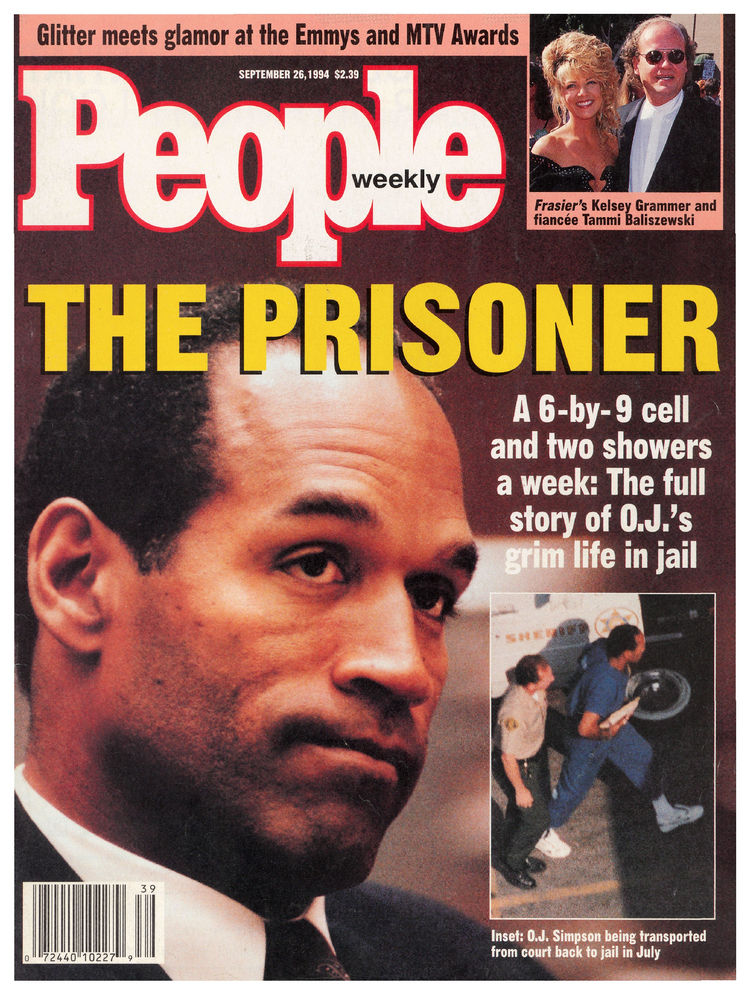 O.J. Simpson (Sept. 26, 1994): Simpson's trial remained a topic of intense public interest throughout the next two years.