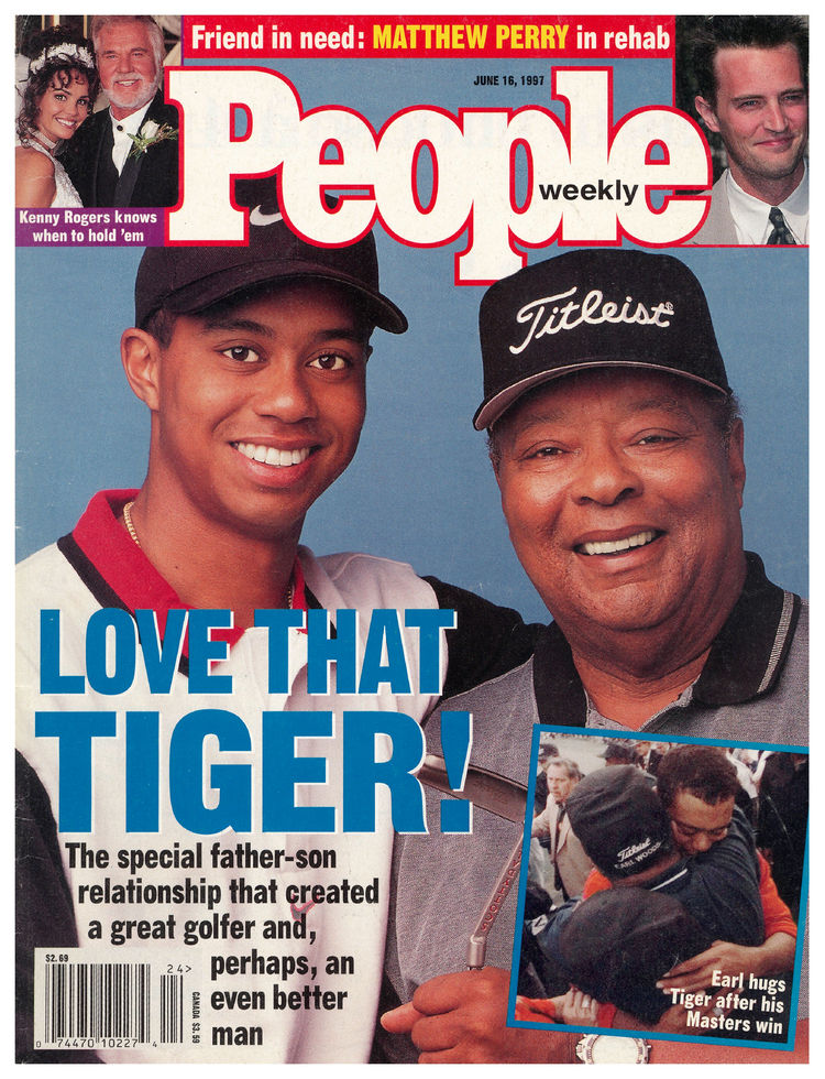Tiger Woods (June 16, 1997): The subhed may evoke snickers in retrospect, but Tiger was a bona fide global superstar after becoming the youngest-ever winner of the Masters.