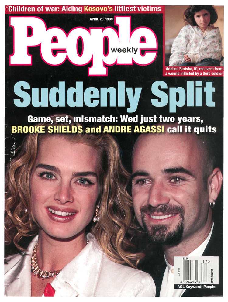 Andre Agassi (Apr. 26, 1999): The tennis star's personal life appeared on the cover weeks before he locked down a career Grand Slam in Paris.