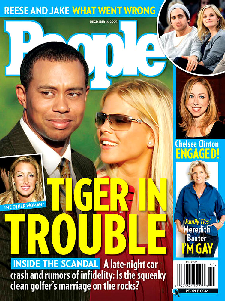 Tiger Woods (Dec. 14, 2009): Tiger's Thanksgivingus mirabilis was a no-brainer for the cover.