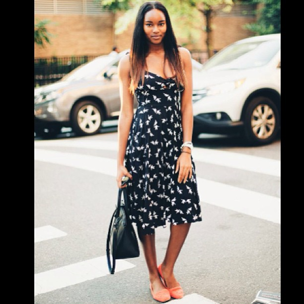 @damarislewis: Caught on the street by my friend and also fab photographer @ibralikezebra last week.