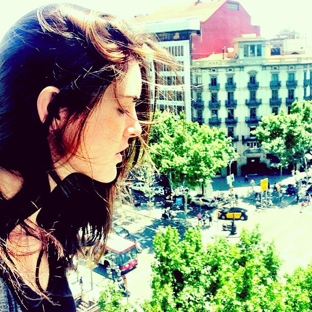 @hilaryrhoda: Hello, Barcelona!