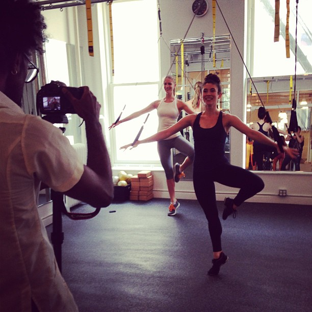 @juliephenderson: Bungee ballet @chaise23