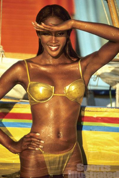 Naomi Campbell :: Robert Huntzinger/SI