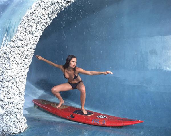 Ana Paula Lemes in Oahu, Hawaii :: Walter Iooss Jr./SI (1999)
