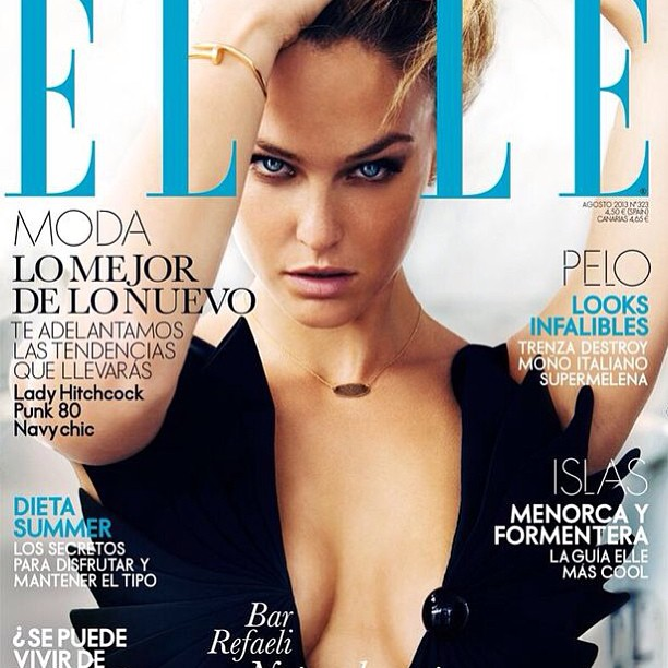 @barrefaeli: ELLE Spain cover just came out