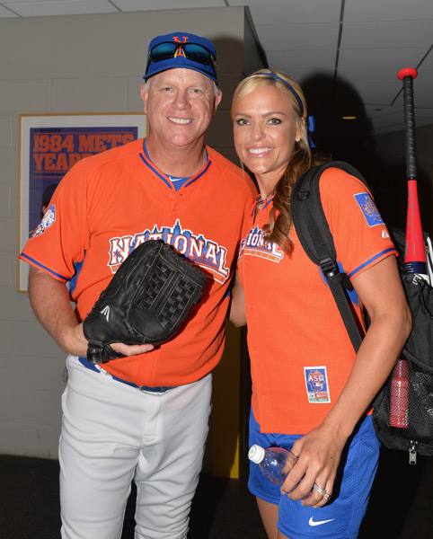 Boomer Esiason and Jennie Finch :: Mike Coppola/Getty Images